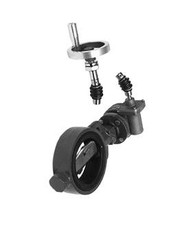 gt    elkhart brass model 2954g  4 0 quot  gear actuated butterfly valve